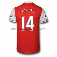 Arsenal Fotballdrakter 2016-17 Walcott 14 Hjemmedrakt