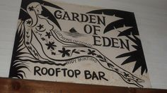 Garden of Eden Drink naked if you dare!
