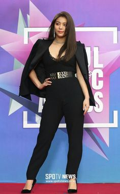 All Black Outfit, Black Outfits, Ailee, Korean American, Beautiful Asian Women, American Singers, Asian Woman, Kpop Girls, Sexy Women