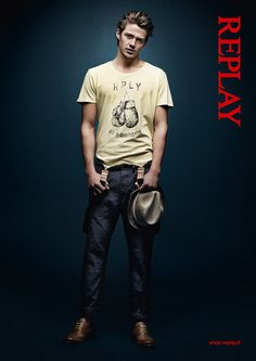 REPLAY Advertising Campaign 2013  http://www.replay.it