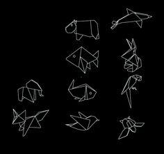 origami line by Román Vélez