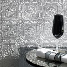Small Squares Wallpaper - White Square Wall Coverings by Graham Brown