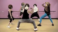 Eren's Twerk Team... Lol  for one it's kinda creepy their heads are backwards but Lmao Jean is really gettin it