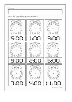 Clock worksheets for kindergarten digital clock learning worksheets en printable analog for educational blank printable clock . Shapes Worksheet Kindergarten, Literacy Worksheets, Math Literacy, Homeschool Math, Kindergarten Math, Math Activities, Clock Worksheets, Shapes Worksheets, Learning Time