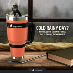 BUILT TO LAST YOU - stainless steel construction inside and out make these rust proof and long lasting Coffee Tumblr, Hot Coffee, Tumbler, Rust, Hot Pink, Vacuums, Construction, Stainless Steel, How To Make