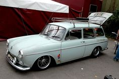 One day.... Volkswagen Squareback