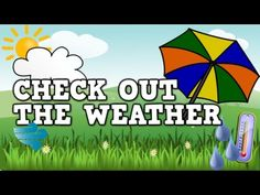 ▶ Check out the Weather! (a weather song for kids) - YouTube