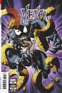 Venom vol 4 #35 | Variant cover art by Mark Bagley & Richard Isanove Marvel Comic Books, Comic Books Art, Marvel Comics, Savage Dragon, Mark Bagley, John Romita Jr, Heroes Reborn, Demon Days, Marvel Venom
