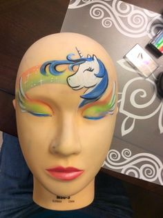 Faces by Joelle Rainbows and unicorn