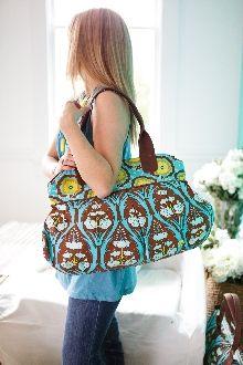 Amy Butler makes cute bags.