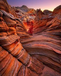 Vermilion Cliffs, Arizona - by Sean Bagshaw