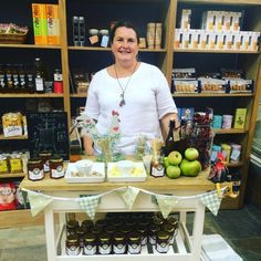"""September found us driving up to Yorkshire for a long weekend selling our Apple & Chilli Jelly at the Town End Farm Shop in Airton.  We were part of a special pop-up market showcasing preserves and met some other great food producers whilst we were there."""