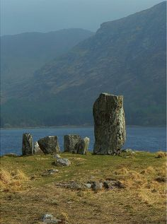 Uragh Stone Circle, Glen Inchaquin, Kerry, Ireland