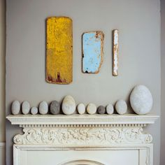 Beautiful mantelpiece
