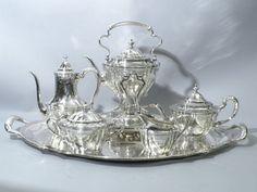 tiffany sterling tea coffee set silver