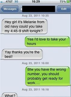 17 Priceless Responses to a Wrong Number Text 22