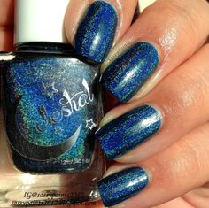"""Sassy Paints: Celestial Cosmetics: """"In the Navy"""""""