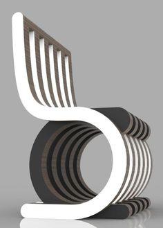 Twist Chair by Giorgio Caporaso