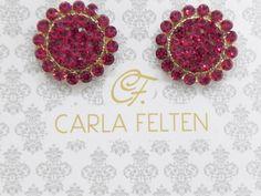 Estamos, in love com por esse brinco, da coleção Carla Felten.