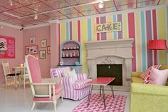 Cute Bakery Cupcake Shop Cake Shop Bake Shop Leah's Sweet Treats, Fort Worth TX www.LeahsSweetTreats.com
