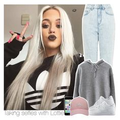 """""""Taking selfies with Lottie"""" by swaggxdirection ❤ liked on Polyvore featuring WÃ¥ven, WithChic, NIKE and adidas Golf"""