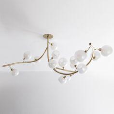 Modernized Neoclassical Nickel Plated 8 Arm Chandelier Professional Design Architectural & Garden