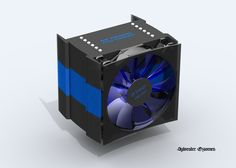 CPU cooler design https://grabcad.com/library/sr-design-cpu-cooler-1