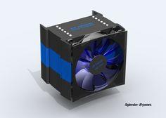 CPU cooler design https://grabcad.com/library/sr-design-cpu-cooler-1