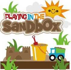 Playing In The Sandbox SVG scrapbook collectioncute svg cuts for scrapbooking cute cutting files for scrapbooks
