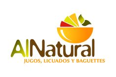Logotipo de comida natural. Monterrey. Logo Sign, Typography Logo, Salad Packaging, Juice Logo, Fruit Logo, Cafe Logo, Green Logo, Logo Restaurant, Logo Food