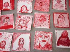 Portraits and Self-Portraits | Art Lessons For Kids