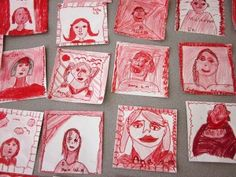 Portraits and Self-Portraits   Art Lessons For Kids