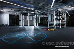 LAX - the largest #functional #training area in the #City of #London. Check out more... http://www.escapefitness.com/blog/7218/lax-turns-style/
