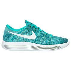 timeless design 9b142 3759a Womens Nike LunarEpic Low Flyknit Clear Jade White Ocean Fog 843765 301  Tiffany Blue Color,