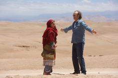 Bill Murray and Leem Lubany in Rock the Kasbah