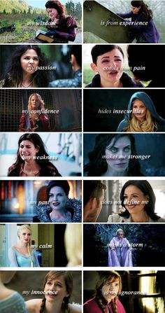 The incredible ladies of OUAT...so...Dear writers, please quit destroying these lovely ladies with your lazy writing. Sincerely, the OUAT Fandom.