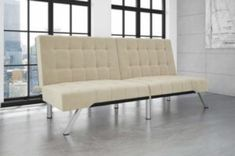 DHP Emily Linen Chaise Lounge
