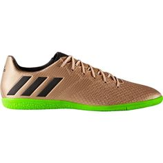 adidas Men's Messi 16.3 Indoor Soccer Shoes, Gold/Black