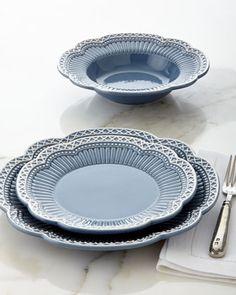 12-Piece+Venezia+Dinnerware+Service+at+Neiman+Marcus. & Four Crest Mugs | Pinterest | Dinnerware Ivory and White dinnerware