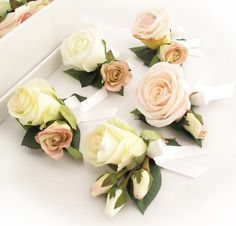 Corsages by Loveflowers. Find your perfect wedding flowers at www.loveflowers.com.au