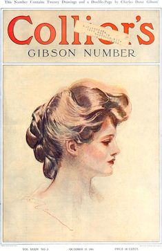 Collier's 1904-10-15. Cover by Charles Dana Gibson - Illustrators