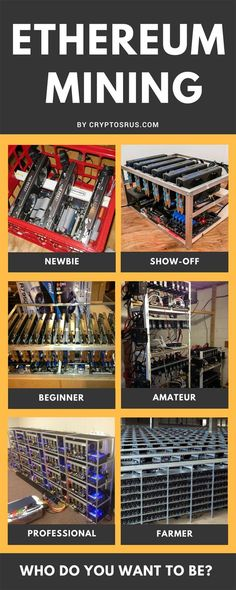 Building a mining rig with common computer parts is really like growing your own money tree. The rig will run and crank away and create wealth (in digital currency) while you sit back and reap the rewards. Anyone can learn how to build their own rigs using graphic cards (GPUs) and a little elbow greese! Take a look at this guide on How To An Ethereum Mining Rig.