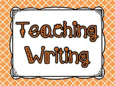 Follow this board for fabulous ideas for teaching writing in elementary.