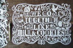 we go together like milk and cookies (by Julene Harrison)