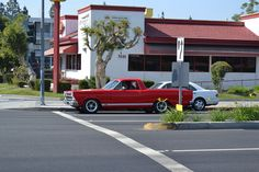 Street Spot: Ranchero in Red