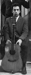 CLARENCE WHITE, Californian and mountain guitar player!   He absorbed the cross-picking style created by mandolinist Jesse McReynolds and turned it into a magnificent technique for extending the expressiveness of the guitar and expanding the use of wide intervals in guitar solos. Eventually, he would bring into play his second and third finger to add even more notes in a banjo-like roll.
