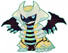 Shiny Giratina ! I actually have one :]  (Is jealous of the one that has this)