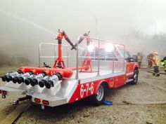 extra alarm fire in Chicago - Deluge Wagon