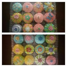 Cute decorated cupcakes! Debs