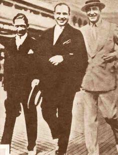 Meyer Lansky, Al Capone and Enoch Jhonson.